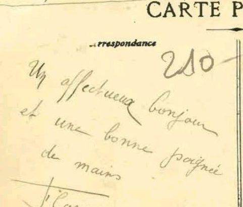Correspondance militaire de l'ancien camp d'aviation - Archive Michel Metenier