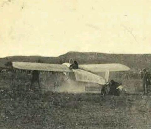 Carte postale Camp d'aviation - Archive Michel Metenier