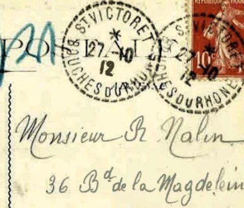 Correspondance militaire du camp d'aviation - Archive Michel Metenier