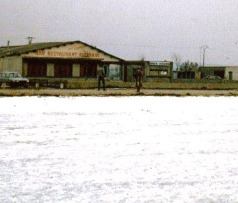Jaï Grand gel 1985 ! Photo Archives municipales