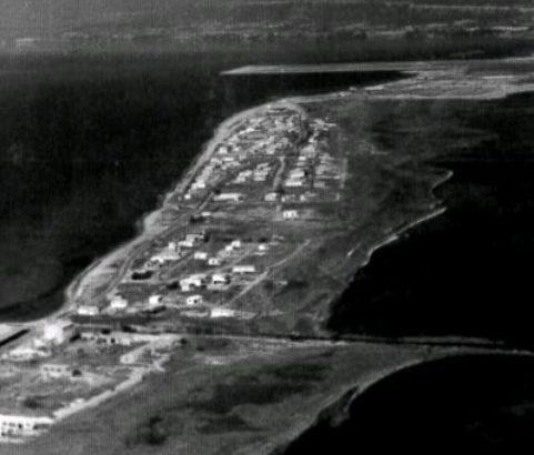 Le cordon du Jaï en 1967 - Photo Archives municipales