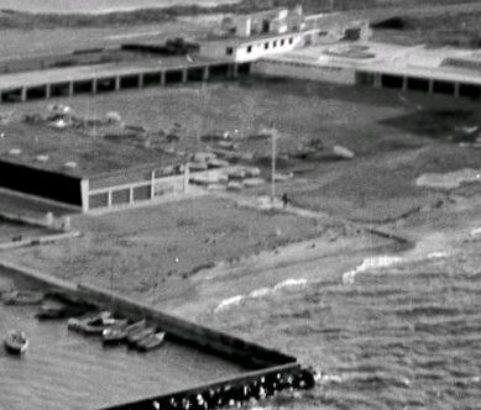 Centre nautique - Photo Archives municipales