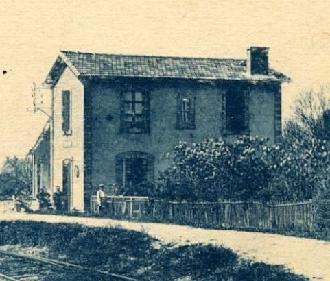 La gare de Pas-des-Lanciers