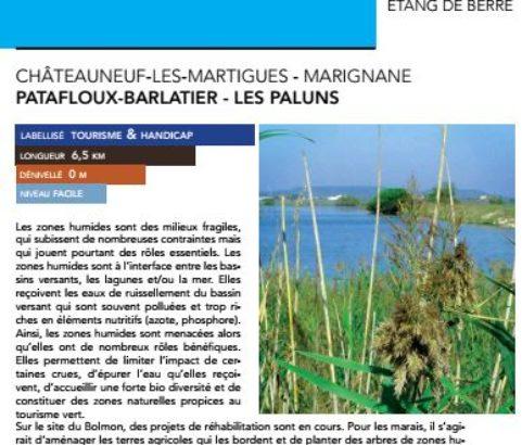 Topo-rando Patafloux-Barlatier Les Paluns