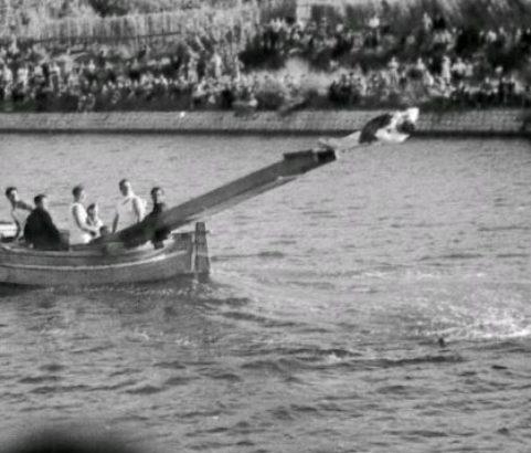 Joutes sur le canal - Photo Archives municipales