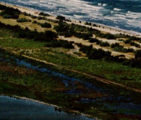 Le cordon dunaire du Jaï - Photo Archives Municipales
