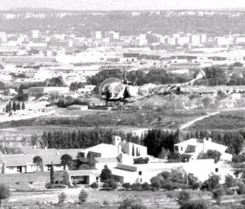 Vue depuis le château d'eau - Photo Archives municipales