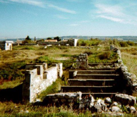 Ruines d'une fabrique de soude de la première moitié du XXème siècle