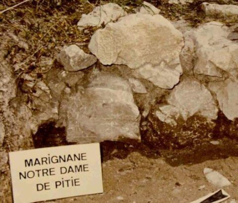 1986 Fouilles archéologiques - Photo Marc Bonatti Archiviste municipal