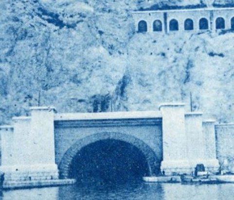 Le canal côté Marseille - Archives Ville de Marignane