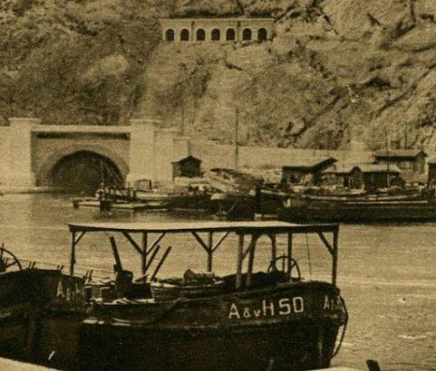 Tunnel Côté Marseille - Archives Ville de Marignane