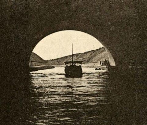 Tunnel côté Marignane - Archives Ville de Marignane