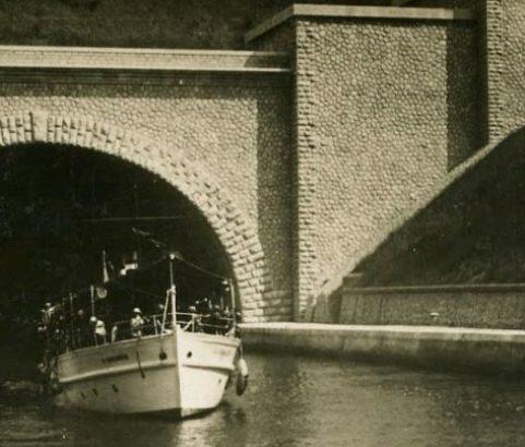 Entrée tunnel côté Marignane - Archives Ville de Marignane