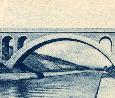 Pont du Toët ou Toës - Photo Archives ville de Marignane