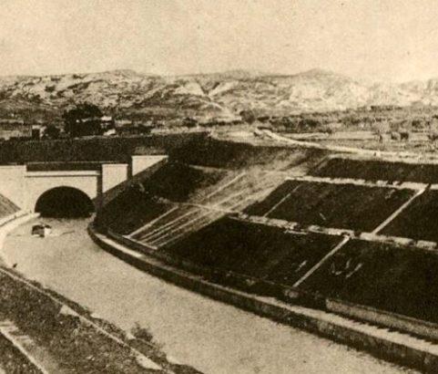Vue d'ensemble Embouchure- Photo Archives Ville de Marignane
