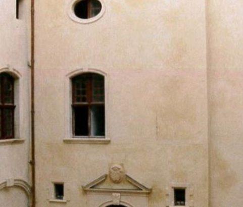 Cour carrée - Photo Archives municipales