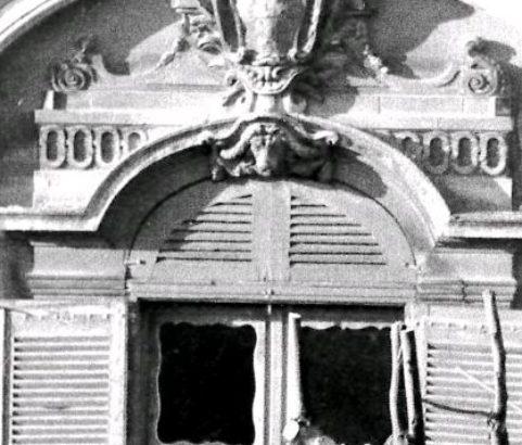 Travaux château - Photo Archives municipales