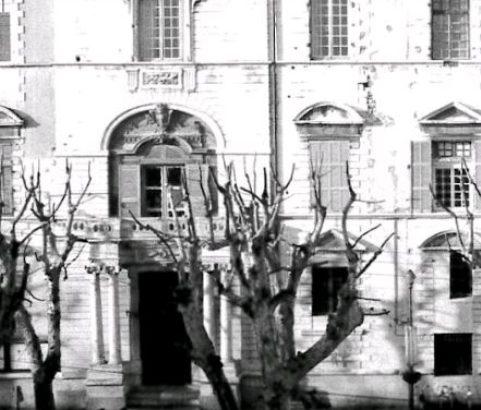 Façade chateau - Photo Archives municipales