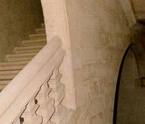 Escalier du château - Photo Archives municipales