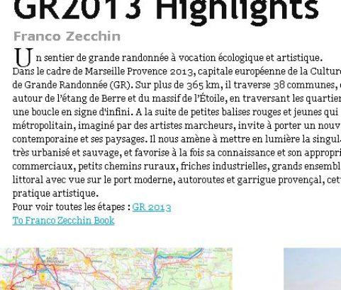 Site GR2013 Highlights de Franco Zecchin