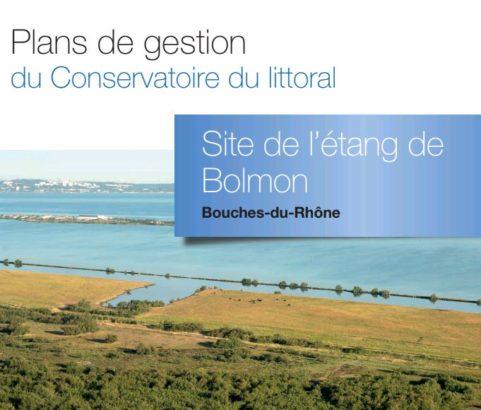 Plan de gestion du Conservatoire du littoral - Etang de Bolmon