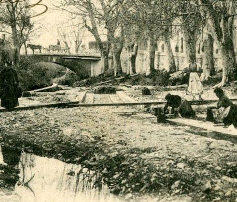 Les lavandières Quartier du Pont