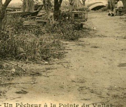 Des pêcheurs à la Pointe du Vallat
