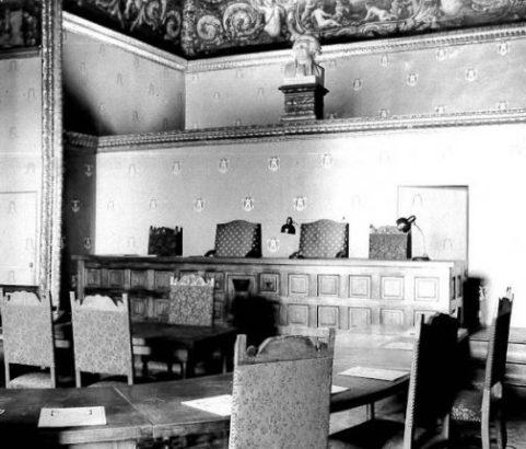 Salle des mariages Château - Photo Archives municipales