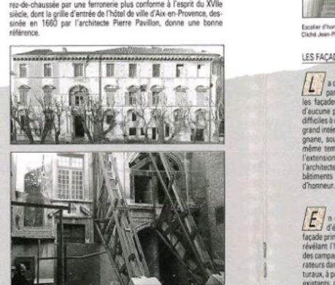 Plaquette DRAC Restauration du Château