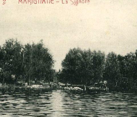 Les bords de l'étang à La Signore