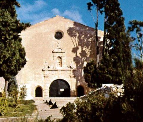 """Chapelle ND de Pitié dite de la """"Bonne Mère""""- Carte postale Archives municipales"""