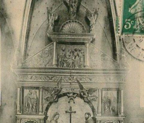 Retable Eglise Saint-Nicolas - Photo Archives municipales